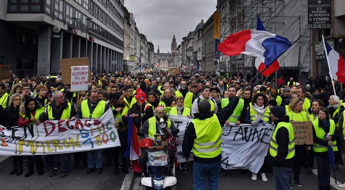 Manifestations et gilets jaunes